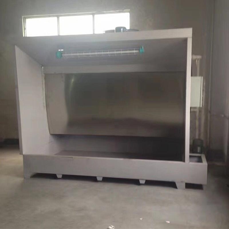 不锈钢水帘机 水帘喷漆柜喷漆房 除尘水帘机喷漆台