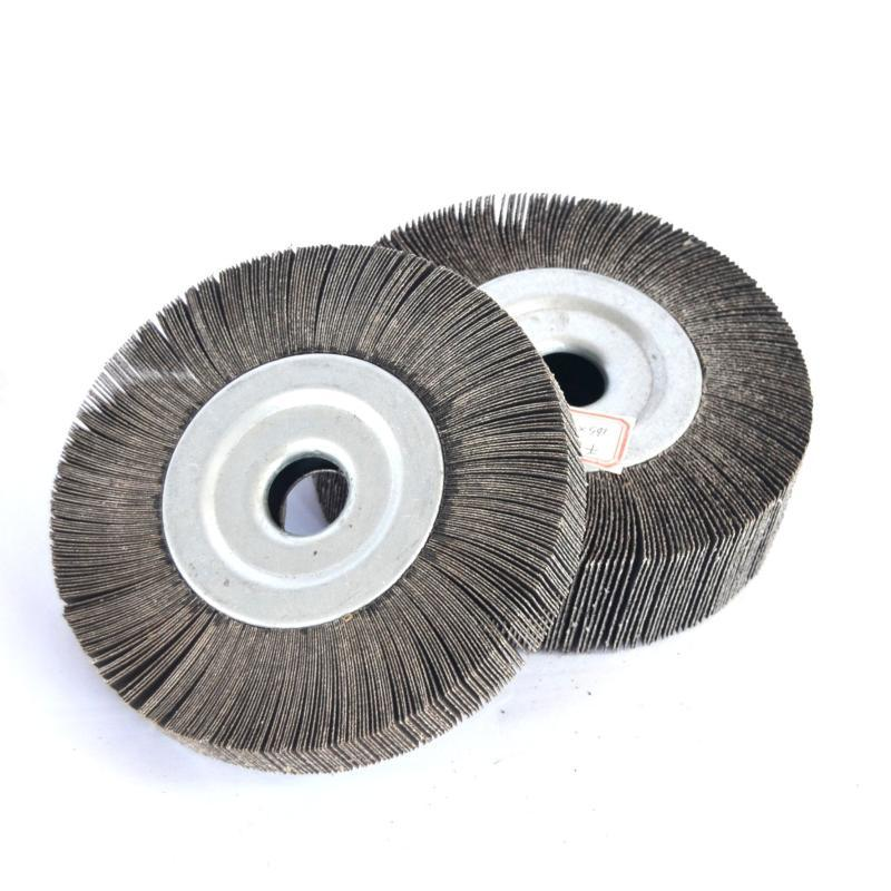 【千叶轮】厂家直销千页轮100不锈钢抛光打磨砂布千叶轮