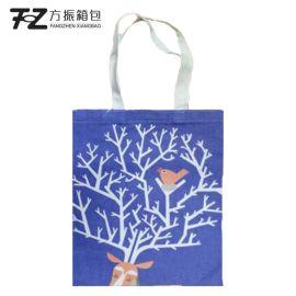 上海箱包定制学生文艺单肩包女 简约手提袋 广告袋可添加logo