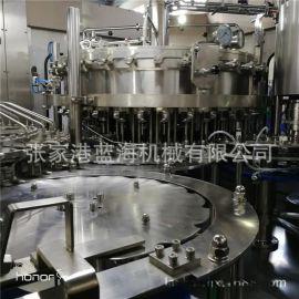 小型全自动三合一灌装机械 称重白酒灌装机 厂家