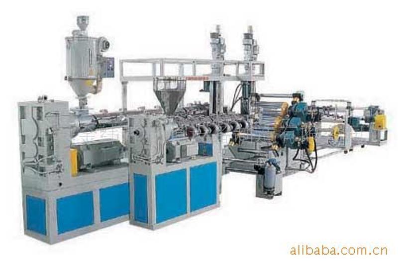 廠家供應 EVA淋膜擠出生產線 EVA薄膜膠片擠出機供貨商