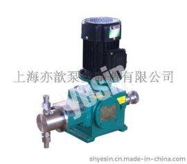 供应J-Ⅻ型柱塞式计量泵/流量计量泵/计量泵代理/计量泵扬程