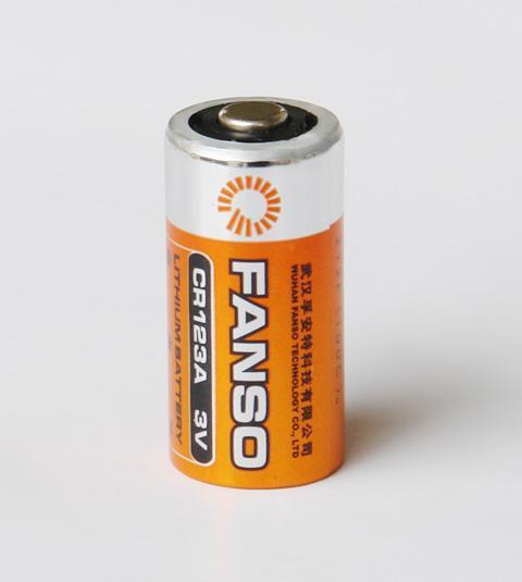 孚安特 CR123A 3.0V 1500mAh 一次锂锰电池 相机锂电池