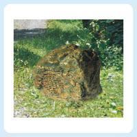 草坪音箱 室外景观防水喇叭 石头造型 公园 园林音响CP-P001