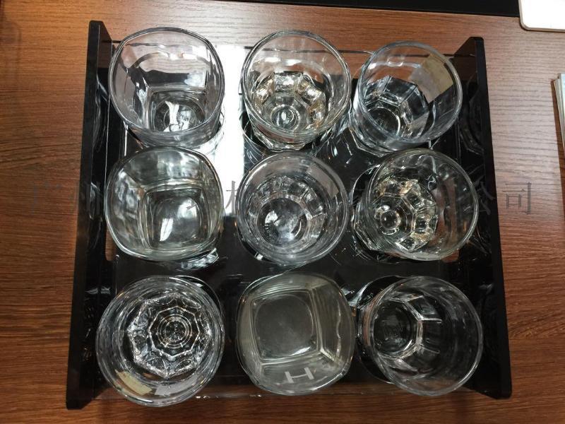 亞克力杯架 消毒酒杯專用杯架 6格9格杯架 可定製