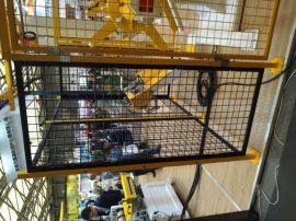 厂区供应车间仓库隔离网 黄色喷塑隔离网1.9米金属网栏选科尔福