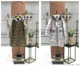 服装品牌折扣毛领羽绒服外贸女装货源