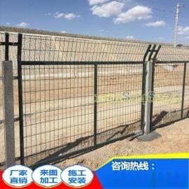 厂家直销 阳江铁路金属网防护栅栏 刀片刺网 云浮高铁加高隔离围网
