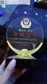 上海专业生产水晶奖牌