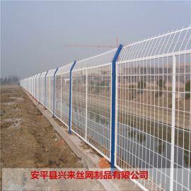 桃柱护栏网 公园护栏网 工厂围栏网