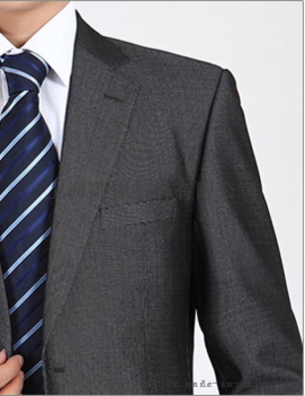 男款商务职业装春秋时尚西装外套银行职员职员套装西服