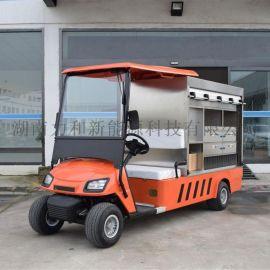 電動高爾夫球車改裝送餐車