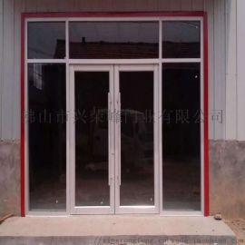 茂名商用門,60系列鋁型材地彈門