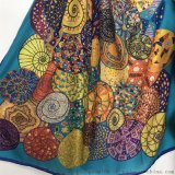 羊絨圍巾廠家-羊絨印花圍巾-蘇州圍巾廠