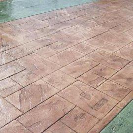 供应彭州市亚威Y19水泥压花|压模|混凝土压花地坪材料|透水地坪厂价直销