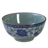 4.5寸青花瓷飯碗 陶瓷碗 米飯碗 粥碗 釉下碗 色釉碗 健康環保陶瓷食具