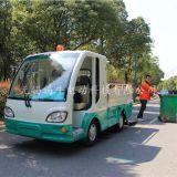 浙江宁波装桶式电动垃圾驳运车价格,景区校园1吨电瓶垃圾转运车售价,配置