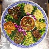 景德鎮青花陶瓷器蒸魚盤海鮮大瓷盤子酒店1米80釐米60裝菜盤拼盤