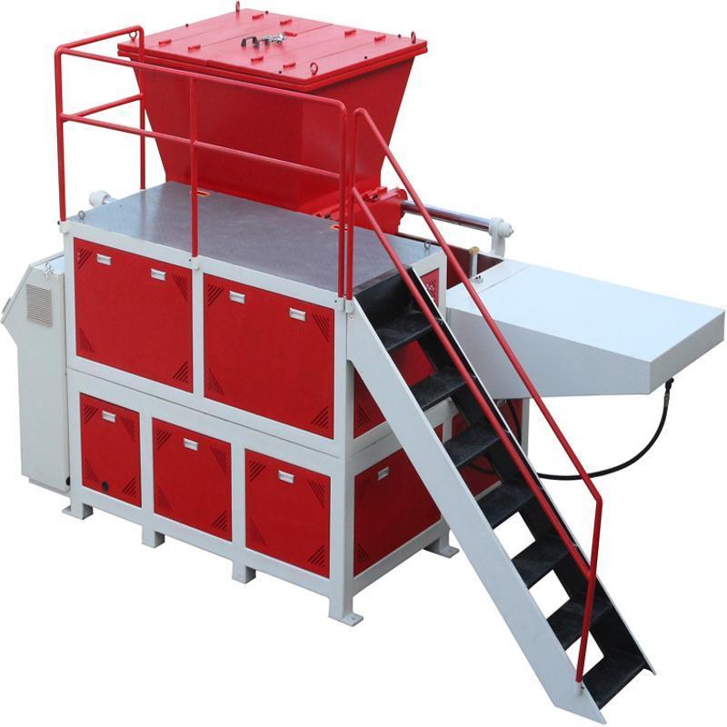 农地膜高产能撕碎机、大棚膜单轴撕碎机