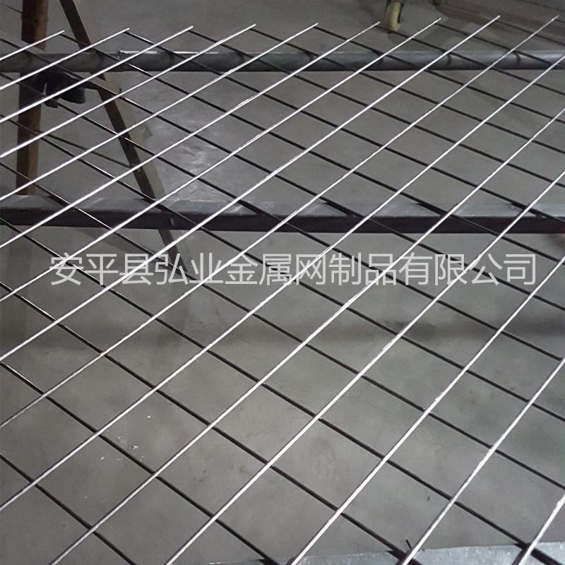 菱形孔鐵絲電焊網片,斜方孔金屬絲網,裝飾鐵絲網
