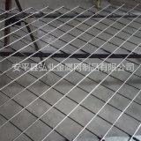 菱形孔铁丝电焊网片,斜方孔金属丝网,装饰铁丝网