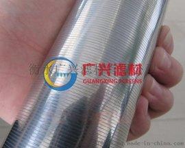楔形丝绕丝V型不锈钢丝滤芯 过滤器过滤芯