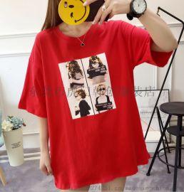 便宜女装短袖便宜T恤清货韩版女装T恤清货便宜服装清