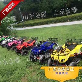 小型儿童电动沙滩车四轮摩托车游乐卡丁车设备