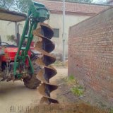 淇縣農用種樹大馬力挖坑機型號