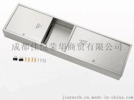 二合一擦手纸箱带垃圾桶的抽纸箱组合柜不锈钢304