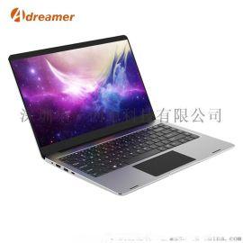 14.1寸酷睿i3/i5/i7全金属笔记本电脑定制