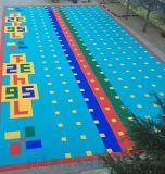 廣東懸浮籃球場拼裝地板誰家好幼兒園拼裝地板質量好