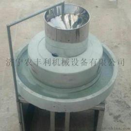 电动米浆石磨机 香油石磨机 杂粮电动石磨