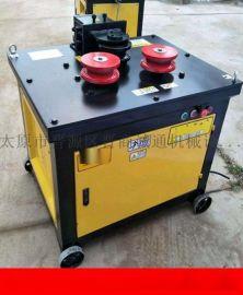 永川区圆钢弯弧机手动控制钢筋弯圆机生产厂家