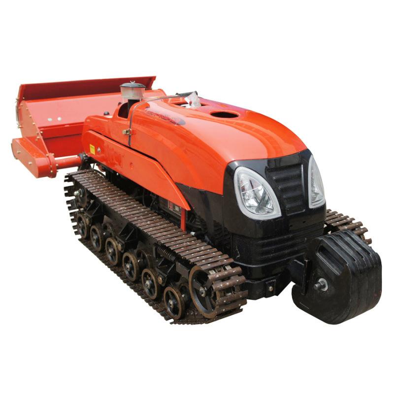 橡膠履帶自走式拖拉機旋耕除草機