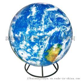悬吊内发光太空云图地球仪
