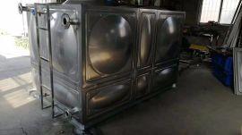 成品水箱 18t玻璃钢水池 不锈钢大型水箱外形美观