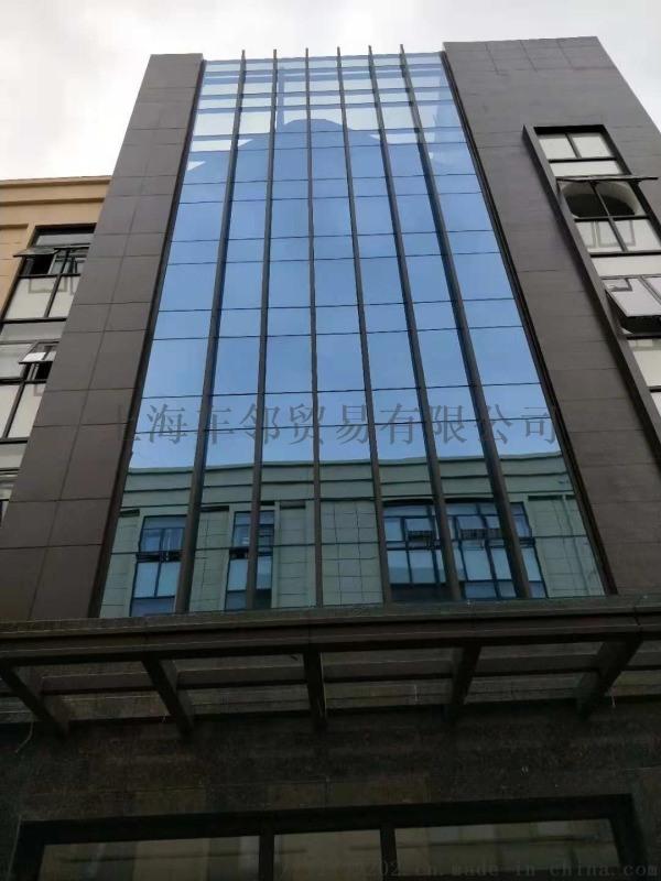 商業大樓玻璃幕牆貼膜