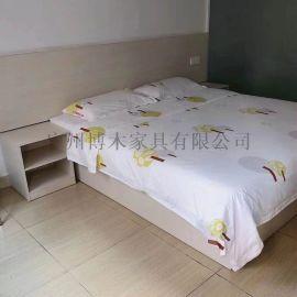 广州厂家直销双人床,床垫