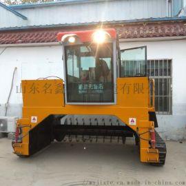 铲车发酵翻堆机 环保设备有机肥翻抛机