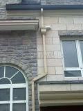 别墅项目屋檐外墙排水管材料及施工