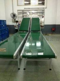 厂家定制防静电皮带线东莞pvc生产线输送机
