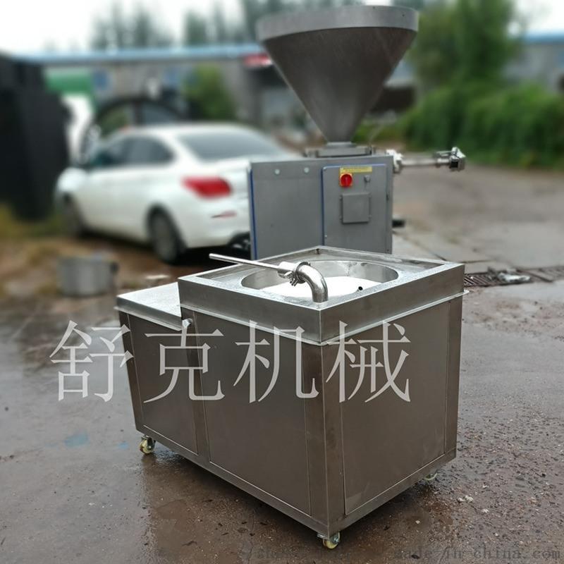 专做双管腊肠液压灌肠机自动调节红肠灌肠机
