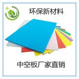山東力樂新材料廠家直銷 中空板 萬通板 瓦楞板