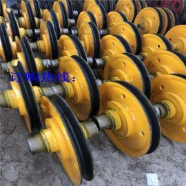 供应各种型号滑轮组 支持定做吊钩滑轮组抓斗滑轮组