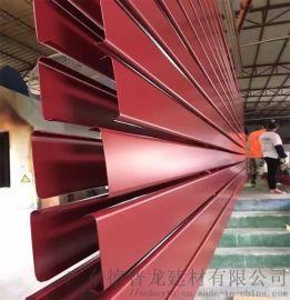 旺季门头铝方管-广告牌外墙铝格栅【招牌铝合金方管】