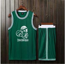 夏季籃球服套裝男定制凱爾特人歐文球衣11號球衣籃球男隊服背心
