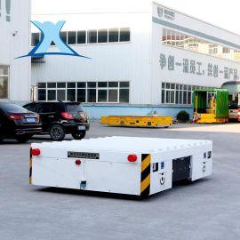 纵横运行电动无轨搬运车 带滚轮支架无轨搬运车 10吨无轨电动平车