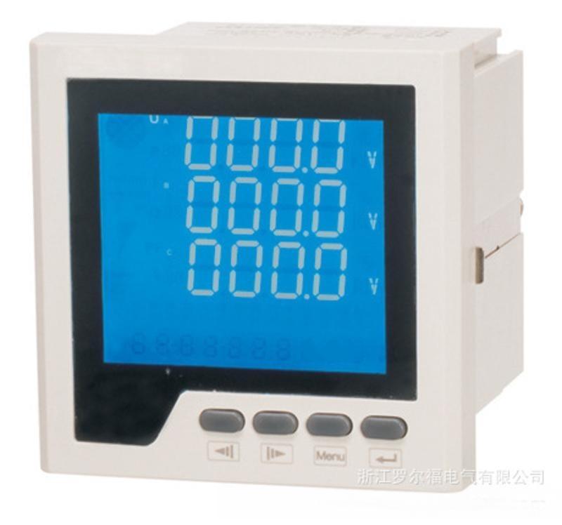 LEF818Z-2S4 外形120*120 三相多功能网络电力仪表 数码管显示