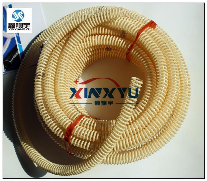 路面抛丸机软管/吸尘器吸尘管/集尘管/pu塑筋增强软管